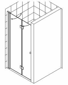 barrierefreie echtglas duschkabinen und echtglas duschabtrennungen sortimentserweiterung. Black Bedroom Furniture Sets. Home Design Ideas