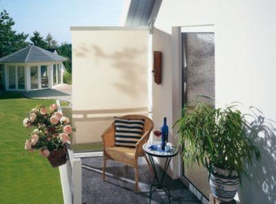 seitenrollos f r balkon und terrasse schatten zum aufklappen. Black Bedroom Furniture Sets. Home Design Ideas